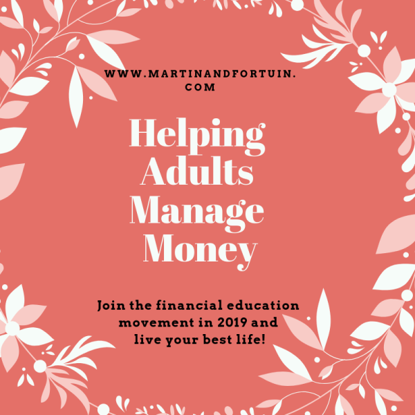 Helping Adults Manage Money
